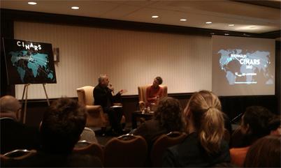Conferencia en Cinars 2012