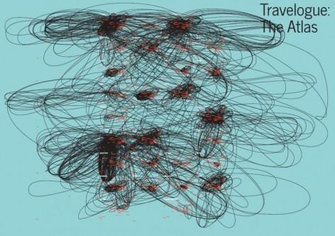 Proyecto Travelogue para la visualización de los flujos artísticos en Europa