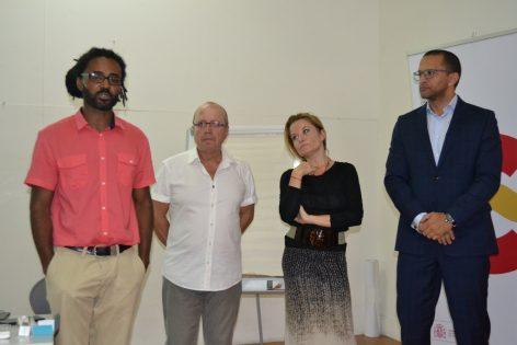 Inauguración curso internacionalización de la cultura en Praia - Cabo Verde