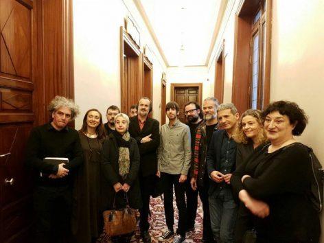 Subcomisión estatuto del artista Congreso de Diputados